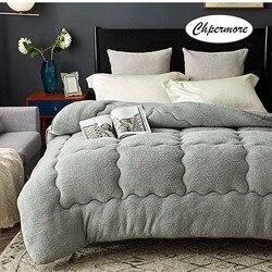 Chpermore 100% овечья шерсть одеяло кашемировое одеяло толстые теплые одиночные двойные зимние одеяла Полный Твин King queen размер