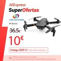 V4 Rc Drone 4k HD Weitwinkel Kamera 1080P WiFi fpv Drone Dual Kamera Quadcopter Echt-zeit übertragung Hubschrauber Spielzeug