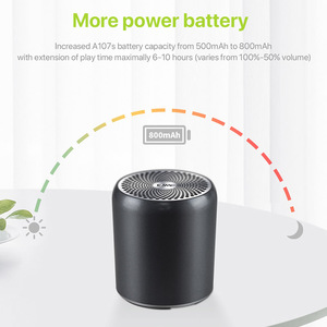 Image 2 - EWA A107S Bluetooth Speaker Portable  Metal HIFI Speakers TWS Wireless Music Player Strong Sound SD Card Play Speaker