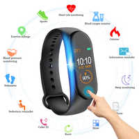 Wipe Out Virus M4 Smart band 4 Fitness Tracker Watch Sport bracelet Heart Rate Blood Pressure Smartband Monitor Health Wristband