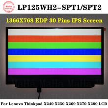 Lcd-Screen LP125WH2 LENOVO X240x250 1366X768 Ips-Display 30pins T1 for X260x270 X280