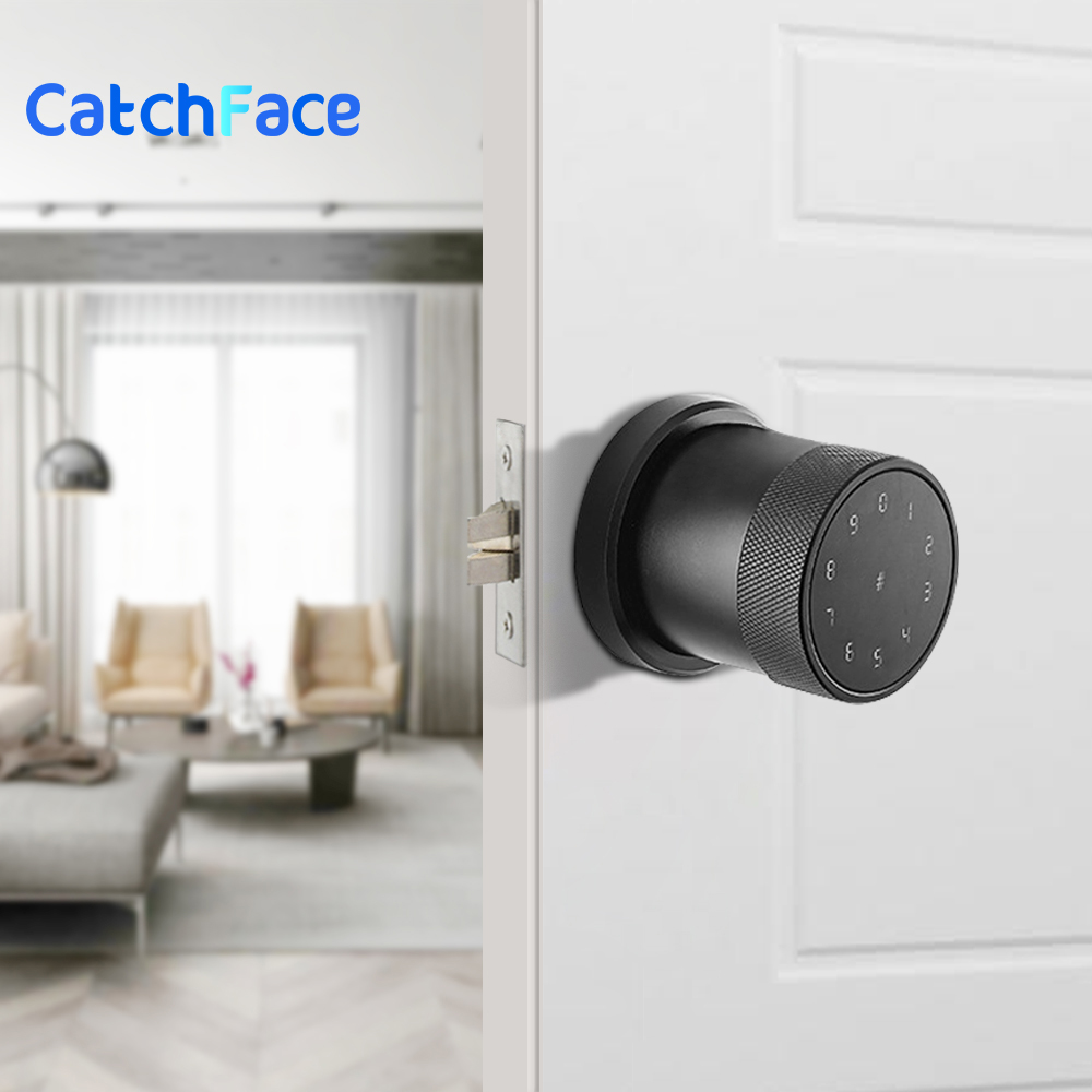 Electric Smart Lock  Digital Keypad Intelligent Smart Door Lock  Waterproof App Password RIFD Card Door Lock For Home Security