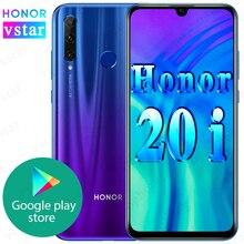 Globale del firmware Originale HONOR 20i honor 10i SmartPhone honor 20 lite 6.21 pollici Kirin 710 Octa Core Viso di Impronte Digitali di Sblocco
