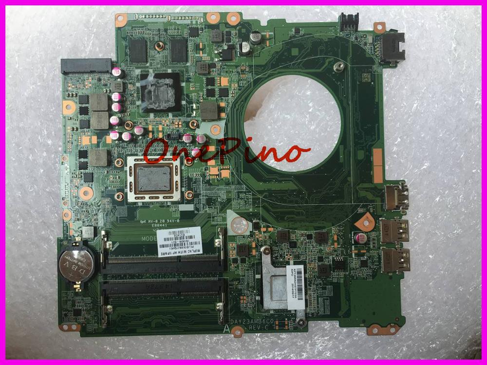 Fit For 17 17-F Laptop Motherboard 763428-001 763428-501 DAY23AMB6C0 DAY23AMB6F0 A10 Cpu 2GB DDR3 Tested