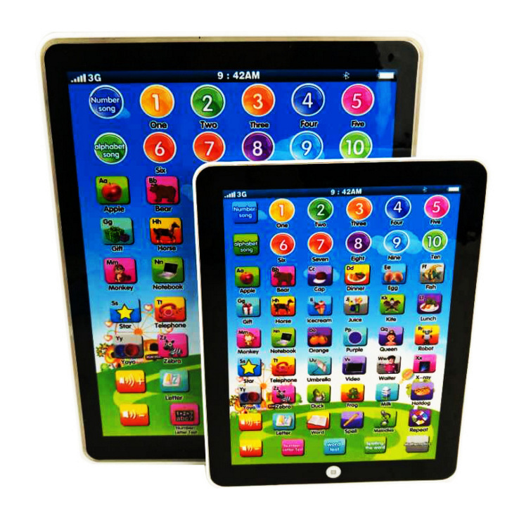 Foreign Trade Supply of Goods Children English Tablet Light Learning Russian Early Learning Story Machine Export Point Reading|  - title=