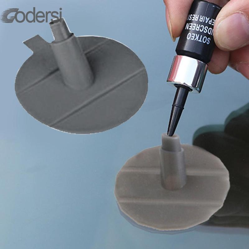 Pedestal For Needle Diy Car Windshield Repair Kit Tools Auto Glass Windscreen Repair Tool 1pc