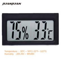 Высокоточный ЖК-термометр, гигрометр, электронный измеритель температуры и влажности в помещении-30C~ 50C, детектор, термометр 20% RH~ 99% RH