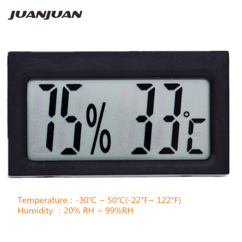 High-accuracy LCD Thermometer Hygrometer Electronic Temperature Humidity Meter Indoor -30C~50C Detector termometer 20%RH~99%RH
