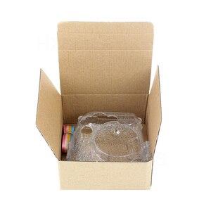 Image 5 - Transparante Camera Case, Crystal Clear Tas, compatibel Voor Fujifilm Instax Mini 9/Mini 8 +/Mini 8 Instant Film Camera Met Riem
