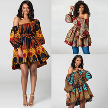 MD dashiki african clothes for women embroidery bazin riche tops womens long sleeve t shirt 2020 south african clothing