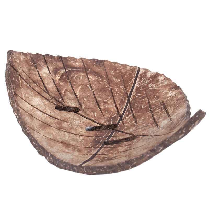1PC kreatywny ręcznie naturalne drewniane mydelniczka łazienkowa pojemnik kuchnia wanna z hydromasażem kubek do przechowywania Rack mydelniczka liść