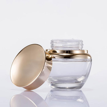 50g Fashion Makeup Accessory Portable Bottling Box Empty Lotion Pot Hair Wax Box Storage Container Cream Jar 10pcs/lot