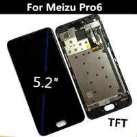 """5,2 """"Für Meizu Pro6 Meizu pro 6 M570M M570C M570Q LCD Display + Touch Screen Digitizer Montage Ersatz Zubehör"""