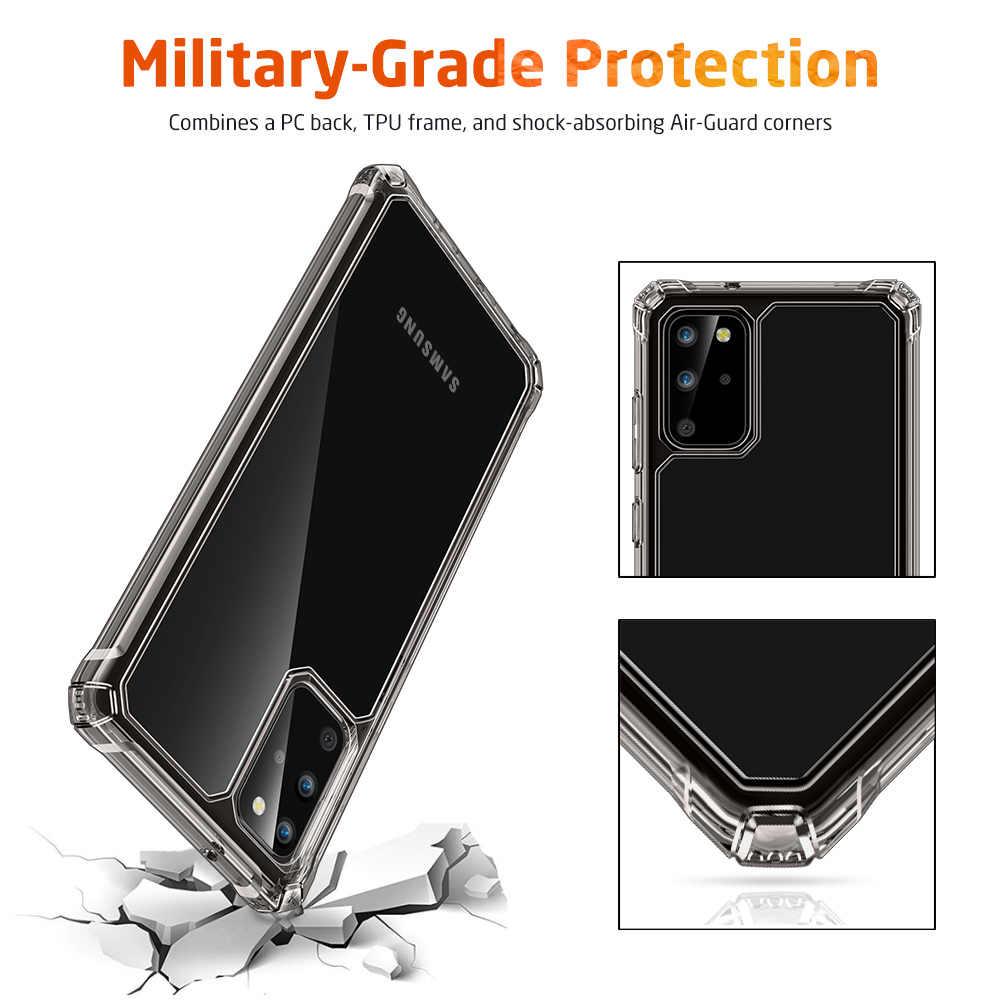 Esr caso de telefone para samsung galaxy s20 plus/ultra transparente original capa completa ultra fino leve caso para s20 s20 + caso