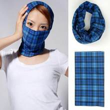 Printing style outdoor scarf mask variety turban magic scarves