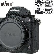안티 스크래치 카메라 바디 커버 3M 스티커 프로텍터 니콘 Z7 Z6 안티 슬라이드 그립 홀더 스킨 가드 쉴드 탄소 섬유 필름