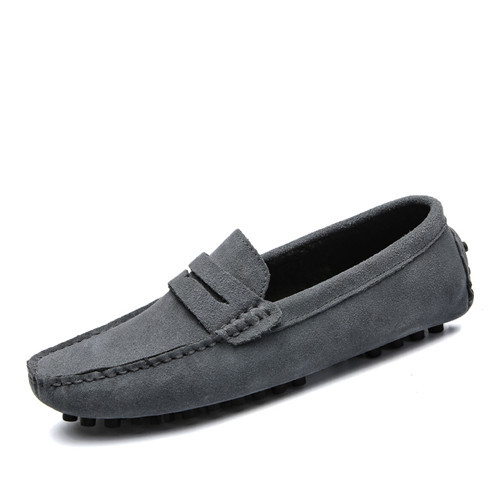 Brand Fashion Summer Style Soft Moccasins Men Loafers High Quality Genuine Leather Shoes Men Flats Gommino Driving Shoes