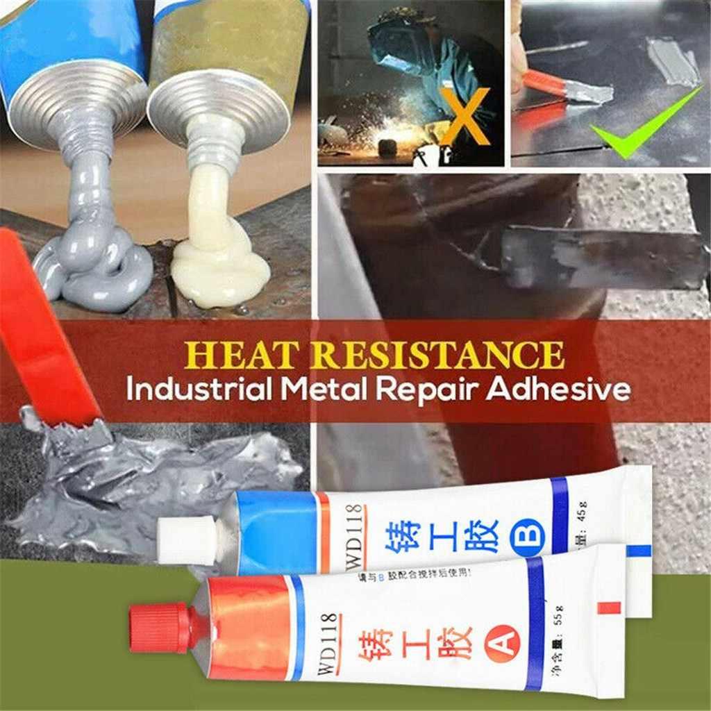 อุตสาหกรรมใหม่ความต้านทานความร้อนเย็นเชื่อมซ่อมโลหะวางกาวสำหรับรอยแตก Strong กาวเจล