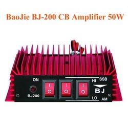 BaoJie BJ-200 CB amplificateur de puissance Radio 50W amplificateur HF 3-30 MHz AM/FM/SSB/CW talkie-walkie amplificateur CB