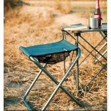 Outdoor Foldable Fishing Chair Ultra Light Weight Portable Folding Camping Aluminum Alloy Picnic Aluminium Alloy Fishing Chair