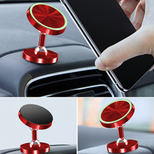 Two Way Adjust Car Phone Holder Stand Luminous Magnetic