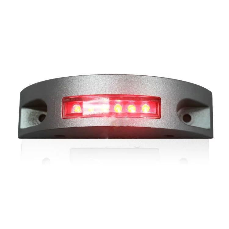 Steady Mode High Quality One Side Road Stud LED Landscape Light Aluminum Shell Red LED Road Stud Marker