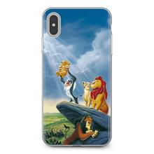 Cartoon Movie Lion King Smartphone Silicone Phone Case For Xiaomi Mi A1 A2 A3 5X 6X 8 9 9t Lite SE Pro Mi Max Mix 1 2 3 2S(China)