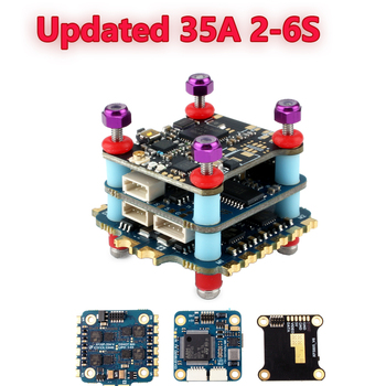 Mini F4 Flight Controller Stack 20x20 35A 2-6S 4 in 1 ESC for Whoop Tinyhawk cinewhoop FPV Racing Drone Quadcopter