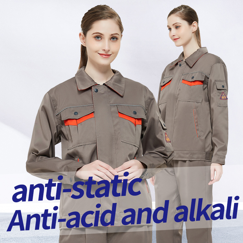 Chemical Uniform Acid Resistant Anti-Acid Clothing WorkWear Protective Coverall Reflective Strap Trousers Jacket