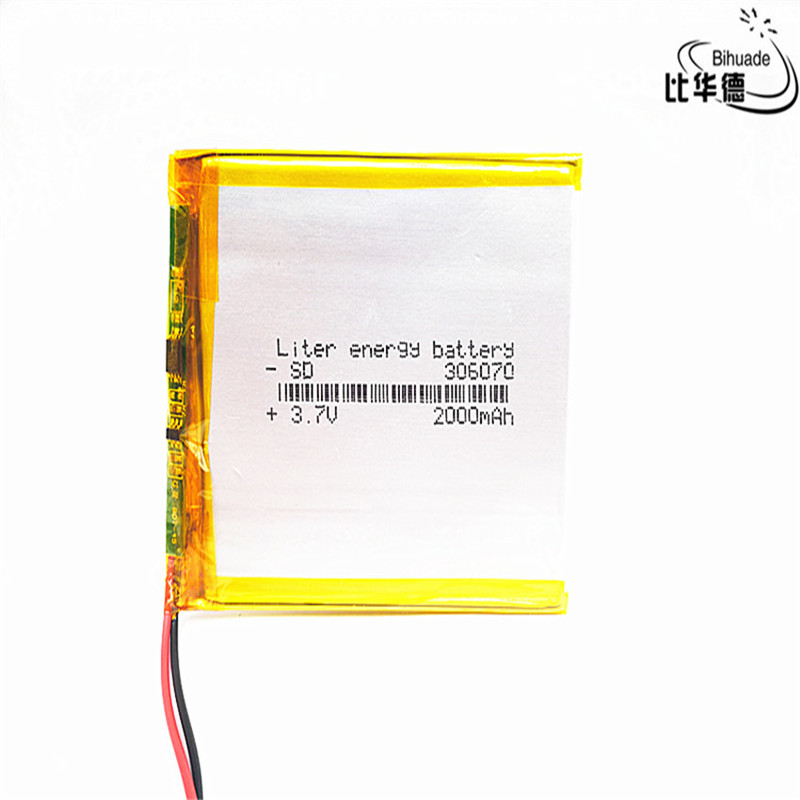3.7V 900mAh 902830 Lithium Polymer Ion Rechargeable Battery Lithium Polymer Li-Po Battery for MP4 GPS MP3 Bluetooth Stereo DIY Gift