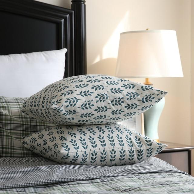 Geometric Decorative Pillow Case 45*45  Christmas Plaid Linen Pillow Cushion Cover Throw Pillow Slipcover Pillowcase 60x60cm