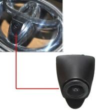 CCD Автомобильная камера переднего вида парковки водонепроницаемый широкоугольный логотип встроенный для Toyota Prado Highlander Land Camry Verso EZ RAV4 Cruis