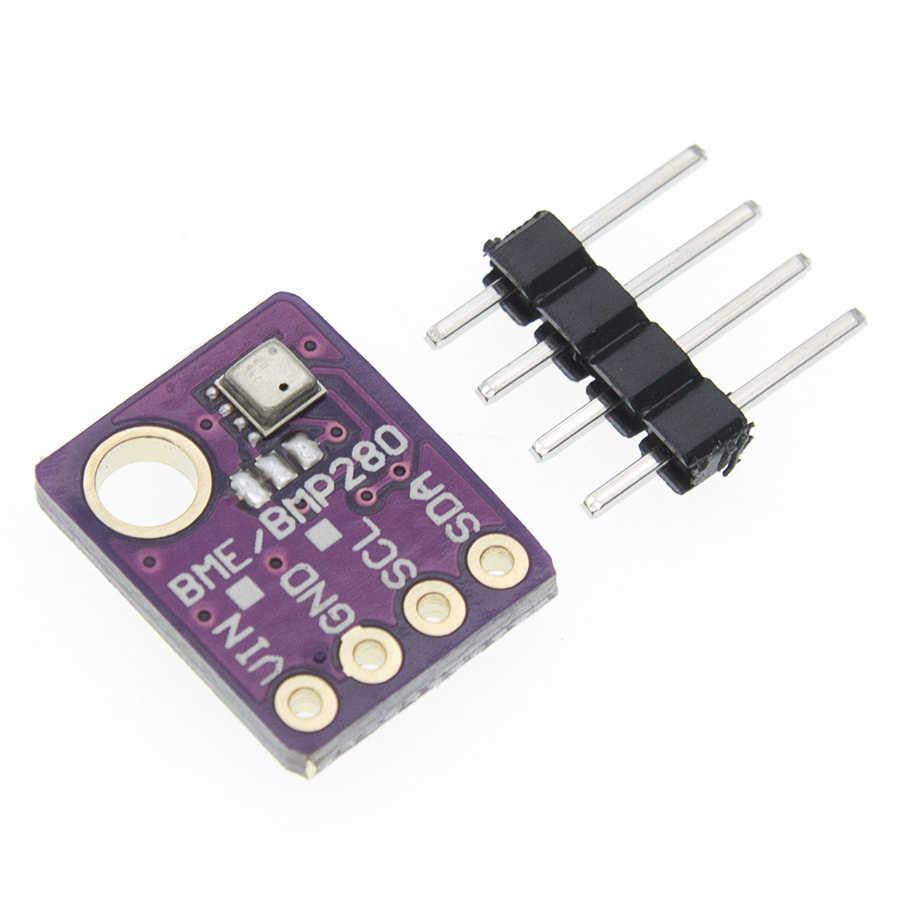 GY-BME280-5V Sensor SPI Luftfeuchtigkeit Temperatur Luftdrucksensormodul Lila