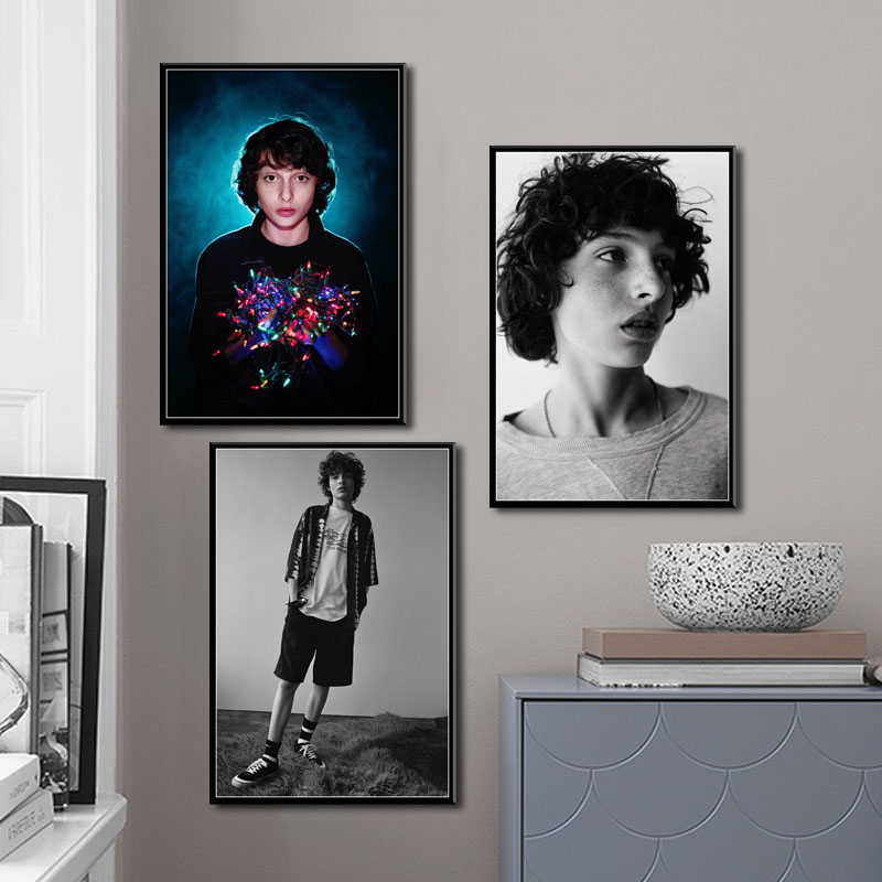 Finn Wolfhard Actor Movie Star Art Canvas Painting Poster Wall Home Decor quadro cuadros image