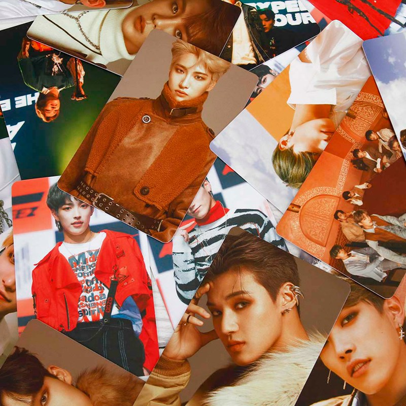 9pcs/set Kpop ATEEZ Photocard Postcard TREASURE EP.FIN ALL TO ACTION Album Photo Card ATEEZ KPOP Lomo Cards New Arrivals