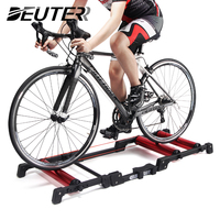 24 29'' Bike Rollers Indoor Stationary Exercise MTB Road Bicycle Aluminum Alloy Roller Trainer Belt Stand Home Cycling Training