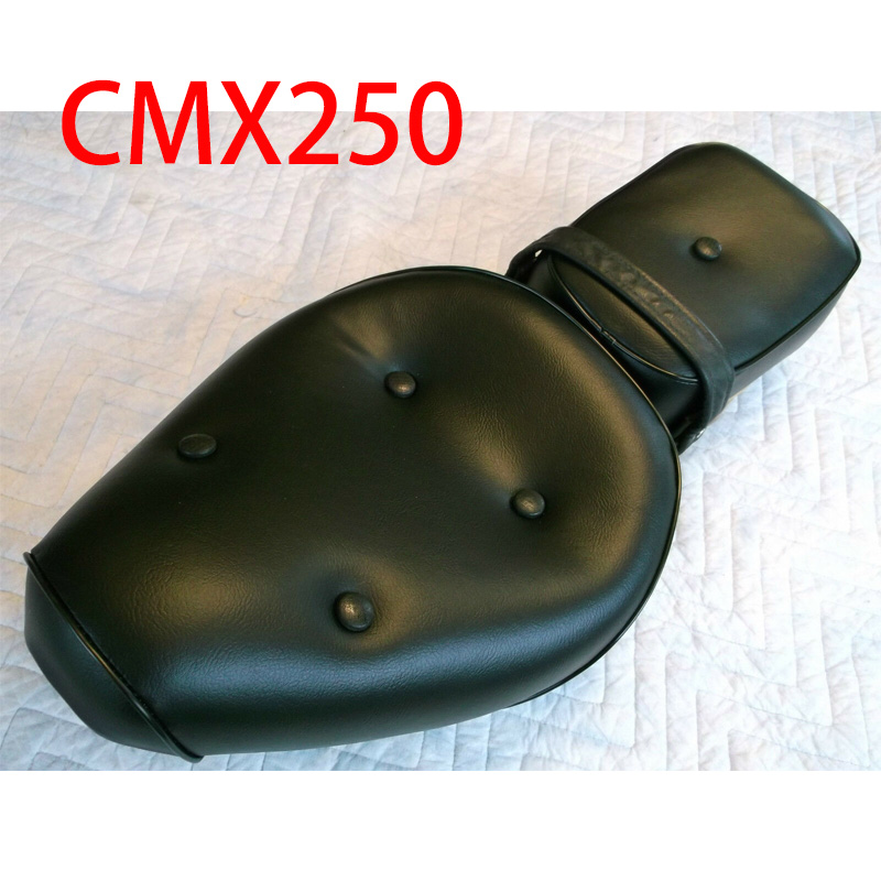 Motorcycle soft Seat Cover cushion saddle Covers protector protective Set for Honda Rebel CA250 CMX250 CMX250C CMX 250