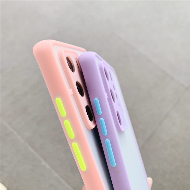 Shockproof  Phone Case Back Cover For Huawei P40 Pro Luxury Translucent Soft Case For Huawei P40 P30 Pro Mate 30 20 Pro Case (9)