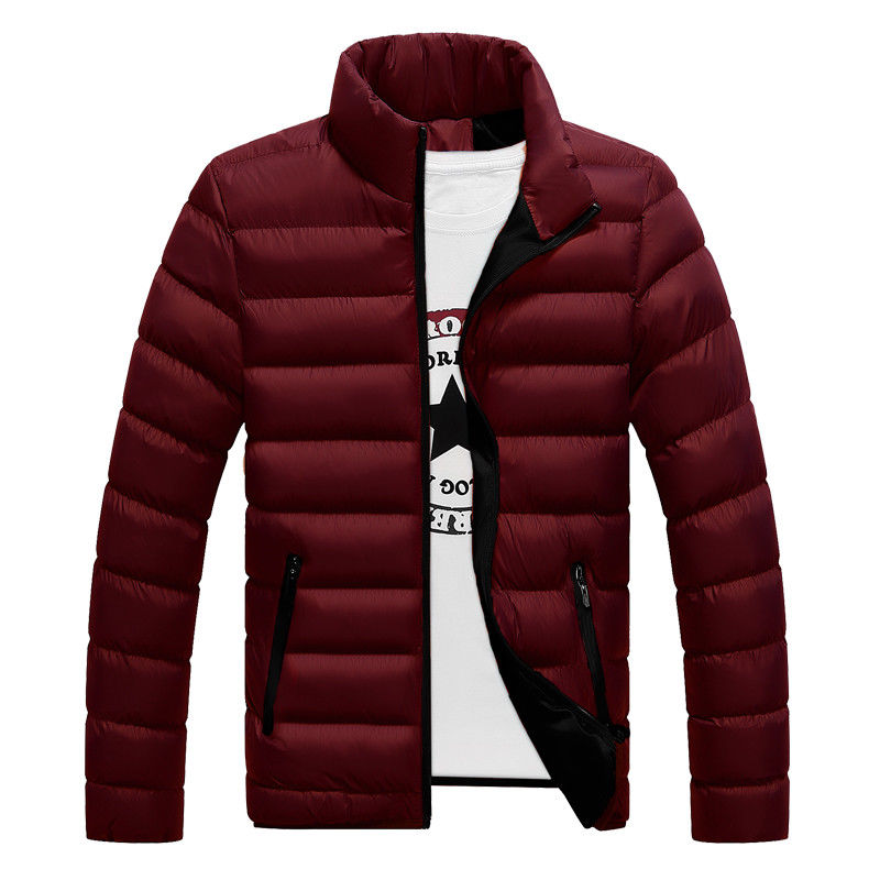 2019 New Hot Sell Mens Winter Warm Parkas Padded Down Slim Jacket Ski Jacket Snow Coat Climbing Outwear