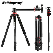 Professional Camera Tripod Monopod Aluminium DSLR Travel Tripod Stand with ball Head for Tripode Stativ with Quick Release Plate