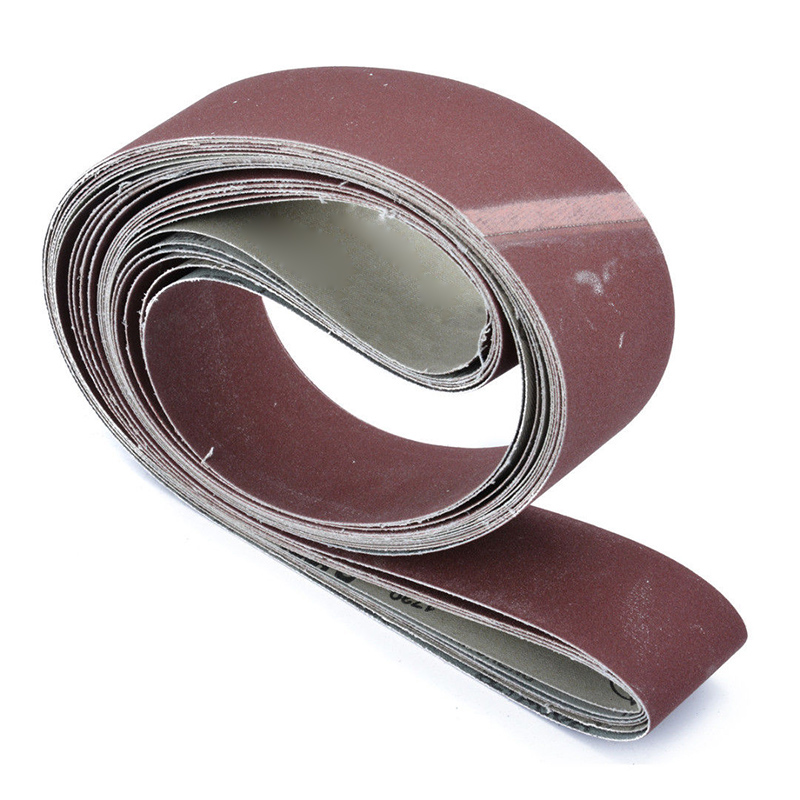 Sandpaper Sander Abrasive Band Replacement 6pcs 2X72 Fine Grit Sandings Belt