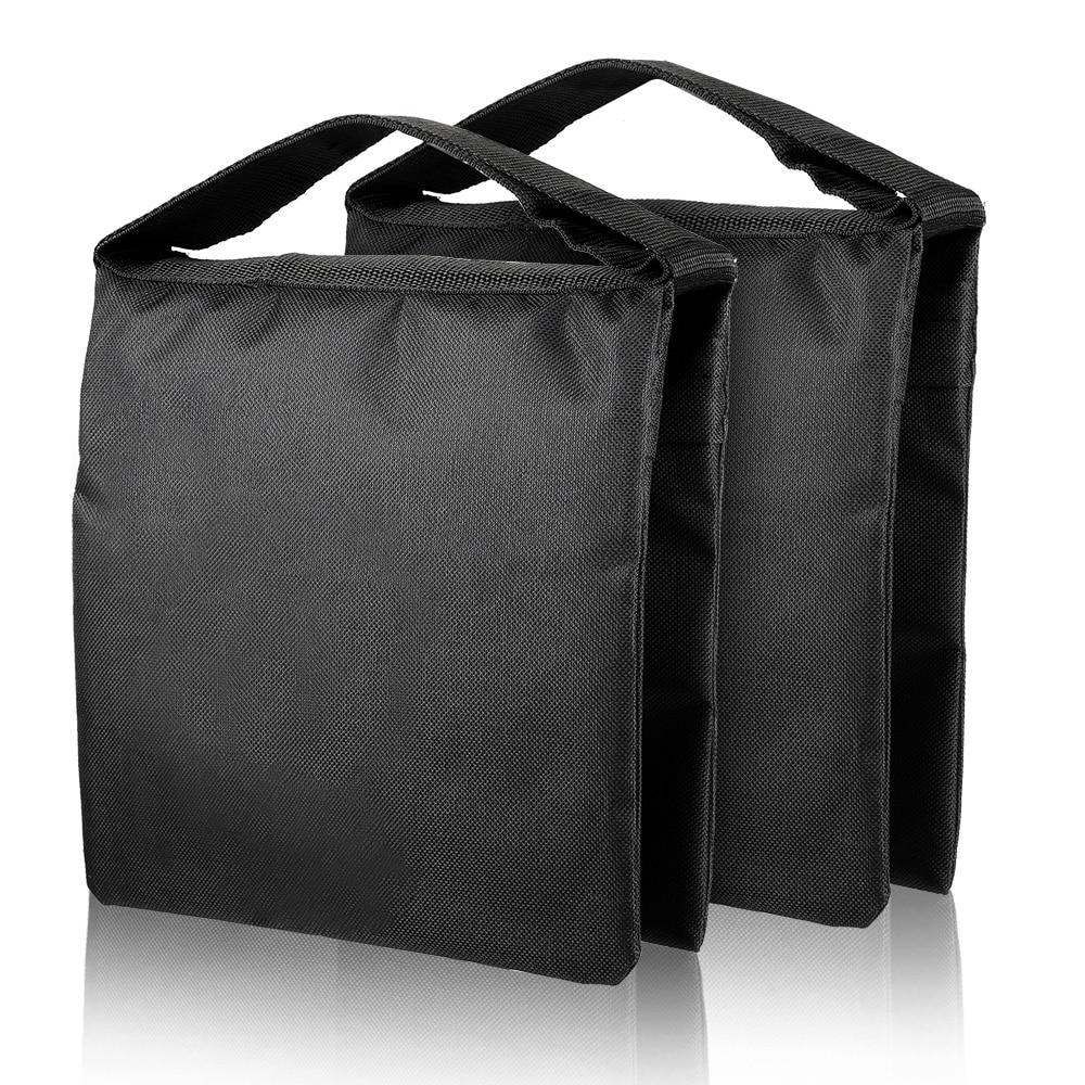 Photography Black Sandbags Use For Background Backdrop Stand,Photo Studio Boom Arm Cantilever Light Tripod,Heavy Duty Sand Bag