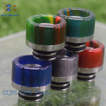 810 Universal drip tip Short Interface Snake Skin Epoxy Resin Drip Tip 1pc RDTA RDA Fit Goon v1.5 / 528 Pulse 24 BF
