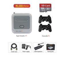 Mini Retro oyun konsolu 50000 + oyunlar kablosuz Video oyun oynatıcı PS1/N64 4K HD çıkışı TV oyun kutusu konsol hediye çocuklar için