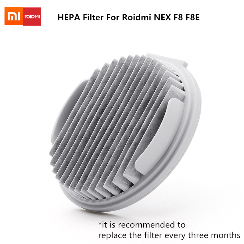 2 Pcs Original XIAOMI Filter element For Roidmi NEX F8 F8E vacuum Cleaner parts