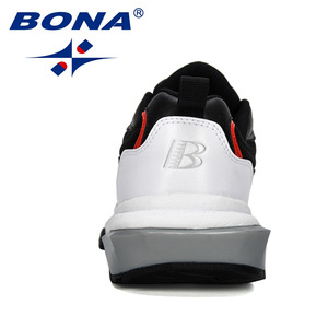 Image 2 - BONA 2019 New Popular Trendy Sneakers Men Shoes Casual Outdoor Comfortable Mesh Microfiber Breathable Man Footwear Non Slip