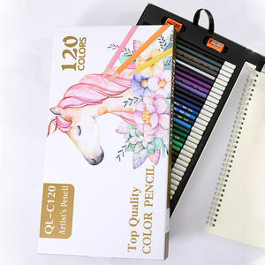 Ink-Colors Pencils-Set Drawing School-Painting Professional for Kids Oily Stationery