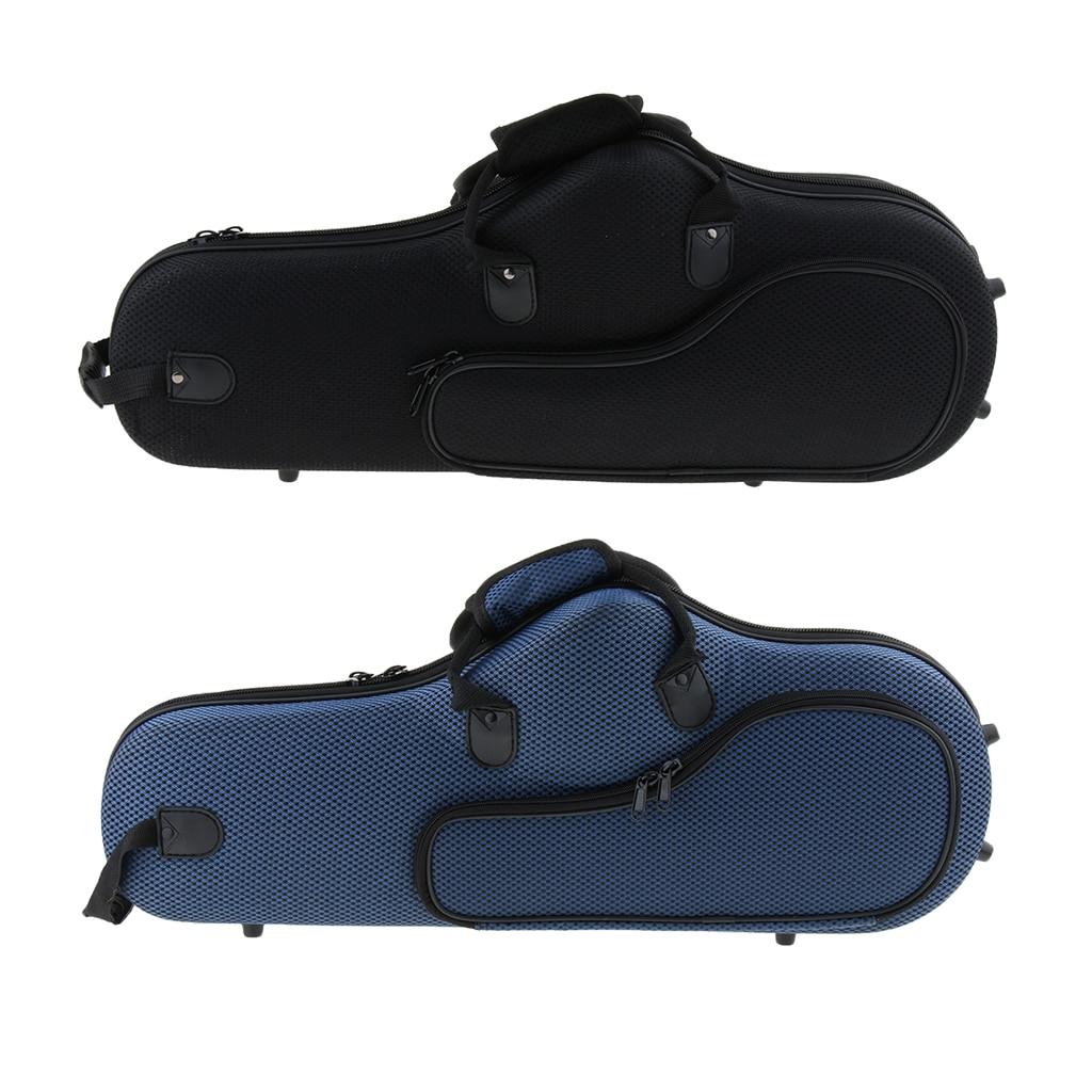 Oxford Cloth Waterproof Mini Saxophone Carrying Case Wear Resistant Saxophone Storage Bag Saxophone Bag