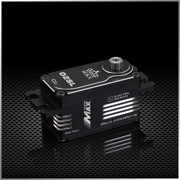 Kingmax CLS02SL Waterproof 55g 30kg Steel Gears Super Low Profile Servo