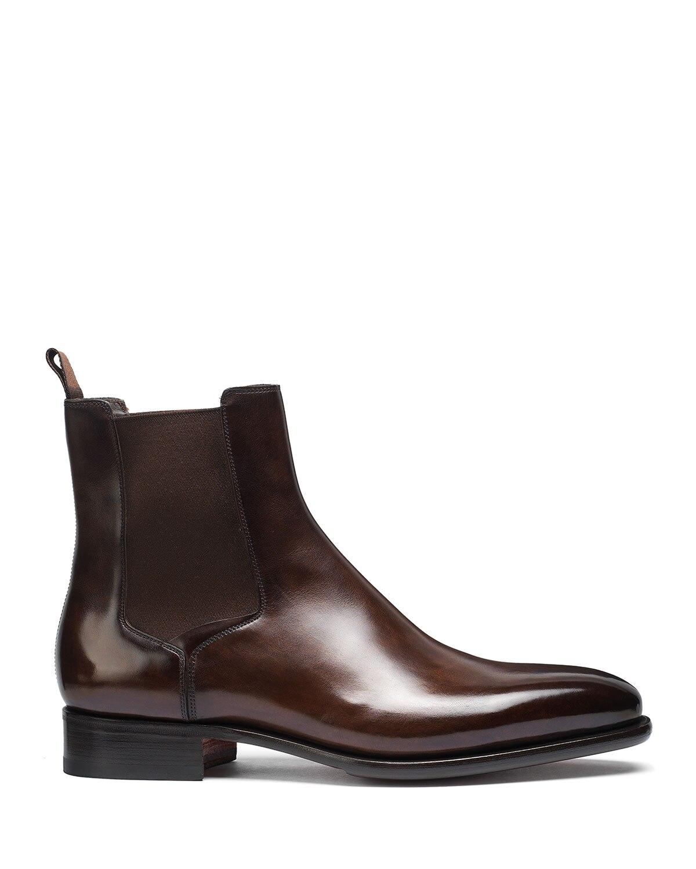 baixo masculino casual estilo retro clássico botas chelsea tv809